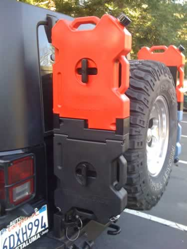 Customized My Tire Carrier For Fuel Water And Storage
